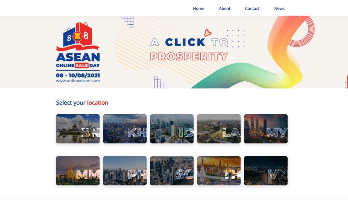 Ngày mua sắm trực tuyến ASEAN - ASEAN ONLINE SALE DAY 2021 đạt những con số ấn tượng